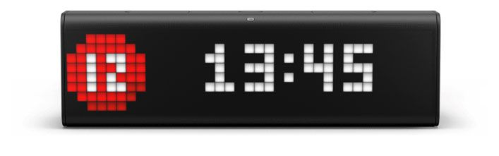 LaMetric Time clockface with corporate identity